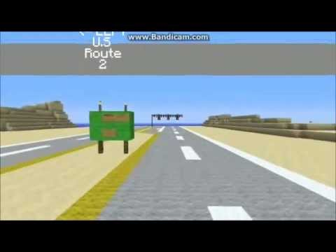 Minecraft interstate road travel