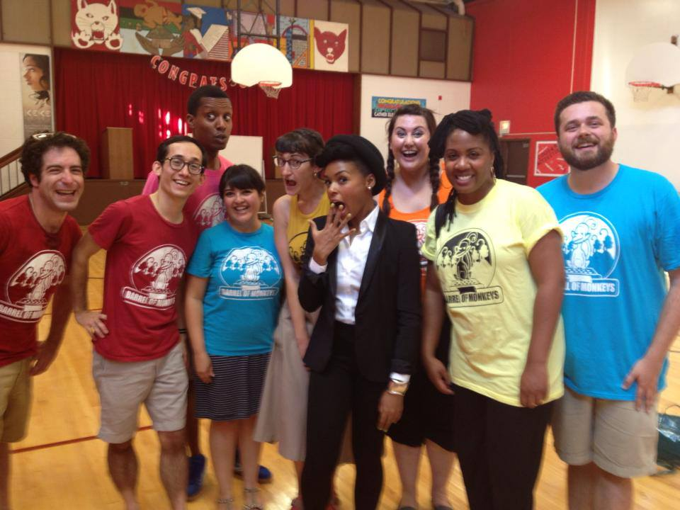 Monkey Teaching Artists & Janelle Monae